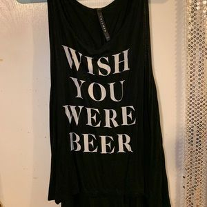 Beer tank top